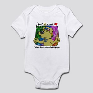 Hippie Yellow Lab Infant Bodysuit
