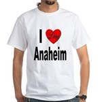 I Love Anaheim California White T-Shirt