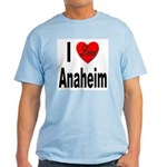I Love Anaheim California Light T-Shirt