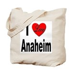I Love Anaheim California Tote Bag