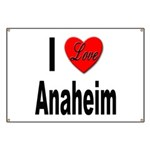 I Love Anaheim California Banner