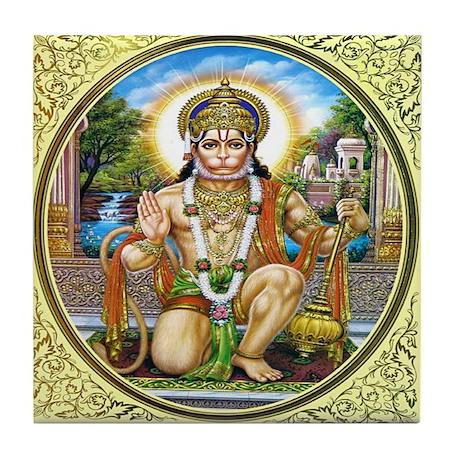 Hanuman Tile Coaster