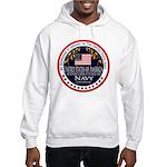 Navy Boyfriend Hooded Sweatshirt