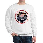 Navy Boyfriend Sweatshirt