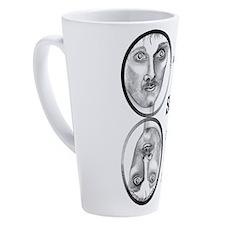 Pool Hall Junkie 17 Oz Latte Mug