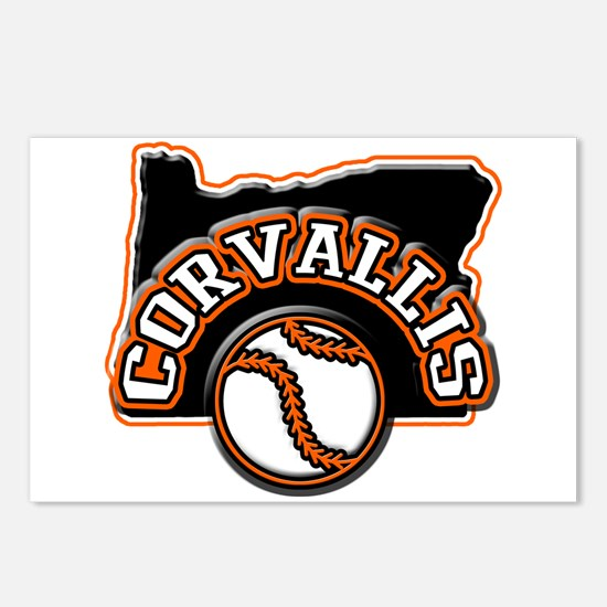Corvallis Baseball Postcards (Package of 8)