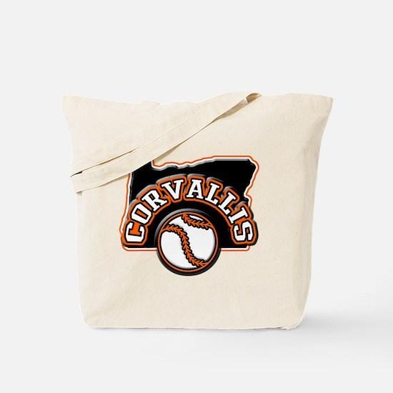 Corvallis Baseball Tote Bag