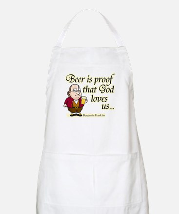 Beer is Proof - BBQ Apron