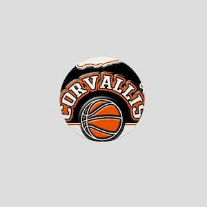 Corvallis Basketball Mini Button
