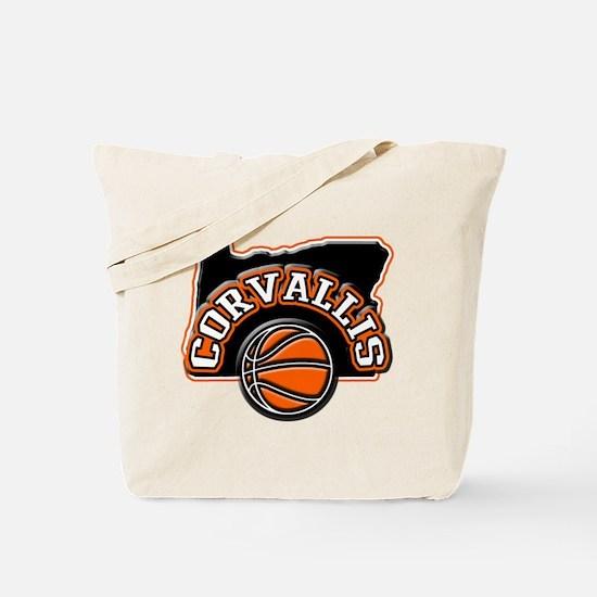 Corvallis Basketball Tote Bag