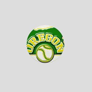 Oregon Baseball Mini Button
