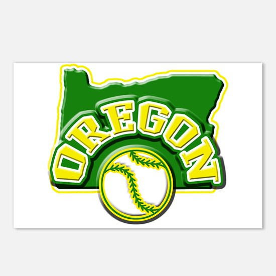 Oregon Baseball Postcards (Package of 8)
