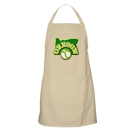Oregon Baseball BBQ Apron