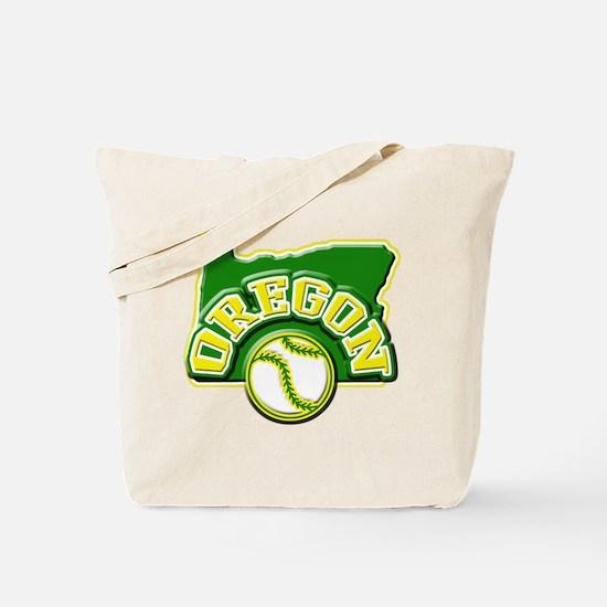 Oregon Baseball Tote Bag