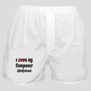 I Love My Composer Girlfriend Boxer Shorts