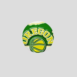 Oregon Basketball Mini Button