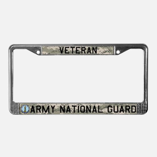 NG Veteran License Plate Frame