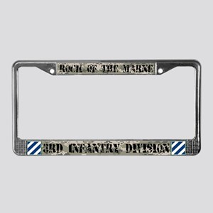 3rd Infantry Division License Plate Frame