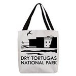 Dry Tortugas National Park Polyester Tote Bag