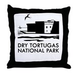 Dry Tortugas National Park Throw Pillow