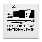 Dry Tortugas National Park Tile Coaster