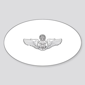 Enlisted Aircrew Oval Sticker