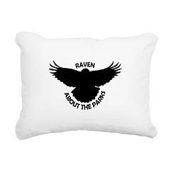 Raven About The Parks logo Rectangular Canvas Pill