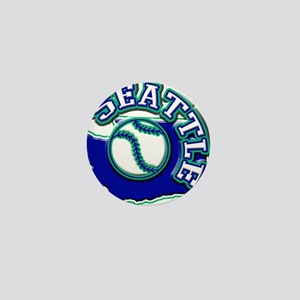 Seattle Baseball Mini Button