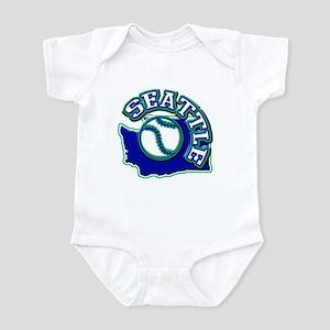 Seattle Baseball Infant Bodysuit