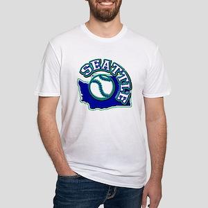 Seattle Baseball Fitted T-Shirt