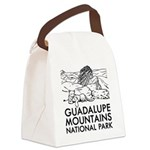 Guadalupe Mountains National Park Canvas Lunch Bag