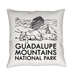 Guadalupe Mountains National Park Everyday Pillow