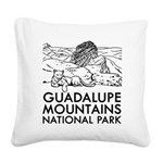 Guadalupe Mountains National Park Square Canvas Pi