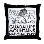 Guadalupe Mountains National Park Throw Pillow