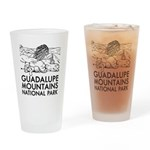 Guadalupe Mountains National Park Drinking Glass