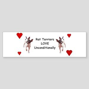 Rat Terrier Bumper Sticker (50 pk)