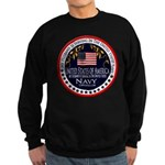 Navy Husband Sweatshirt (dark)