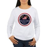Navy Husband Women's Long Sleeve T-Shirt
