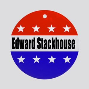 Edward Stackhouse Round Ornament