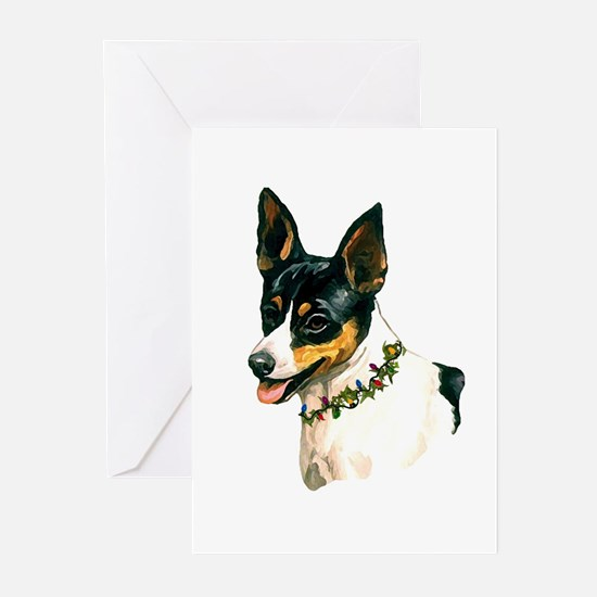TOY FOX TERRIER Greeting Cards (Pk of 20)
