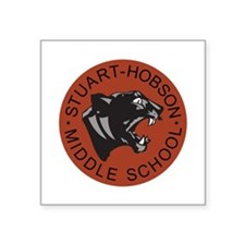 Stuart Hobson Logo Square Sticker 3
