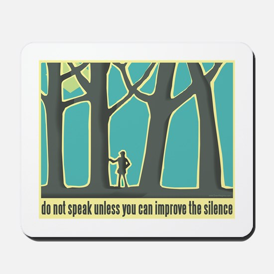 John Muir Quote Mousepad