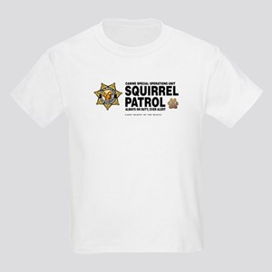 Squirrel Patrol Kids Light T-Shirt