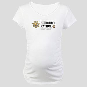 Squirrel Patrol Maternity T-Shirt