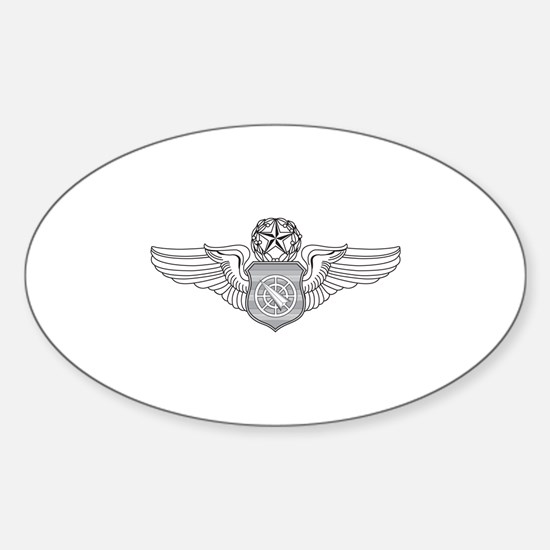 Battle Manager Oval Decal