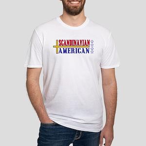 Scandinavian American Fitted T-Shirt