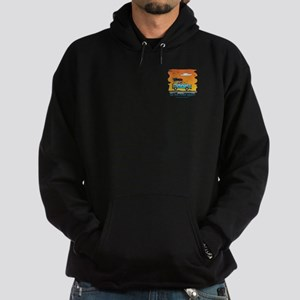 On the Road Again - At Sunset Hoodie (dark)