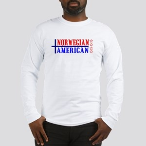 Norwegian American Long Sleeve T-Shirt