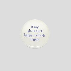 Happy alters Mini Button