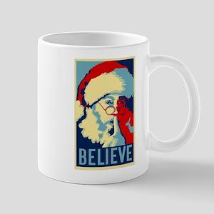 Graphic Santa Mug